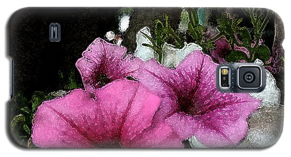 California Petunias Galaxy S5 Case