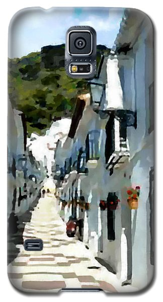 Galaxy S5 Case featuring the painting Calle San Sebastion by Jann Paxton