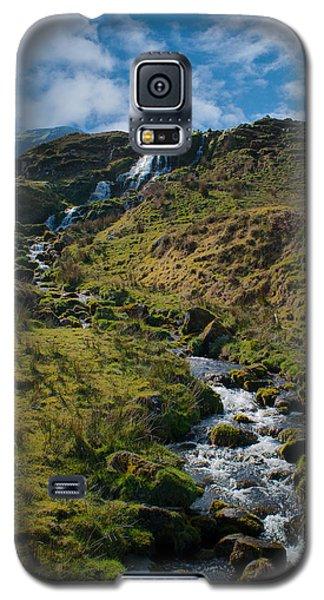 Calmness At The Falls Galaxy S5 Case