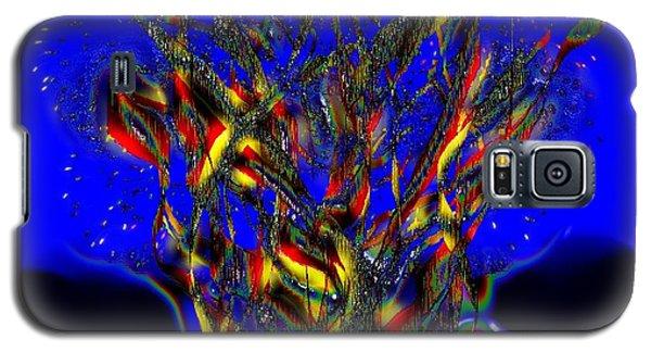 Camp Fire Delight Galaxy S5 Case