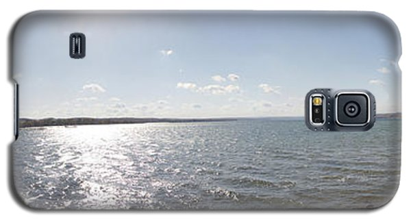 Galaxy S5 Case featuring the photograph Canandaigua Lake Panorama by William Norton