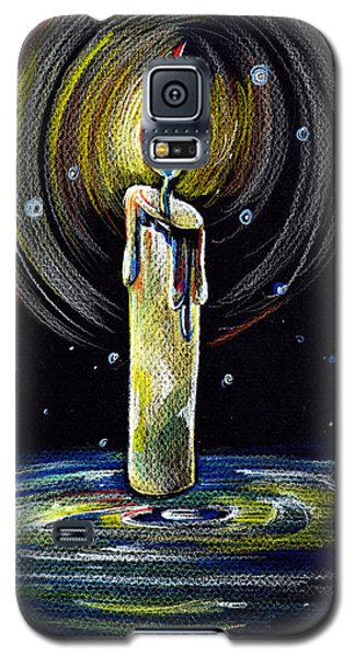 Candel On The Water  Galaxy S5 Case