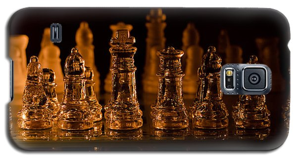 Candle Lit Chess Men Galaxy S5 Case