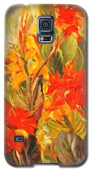 Canna Lilies Galaxy S5 Case