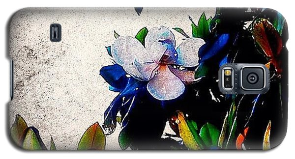 Edit Galaxy S5 Case - Canvas Magnolia by Mari Posa