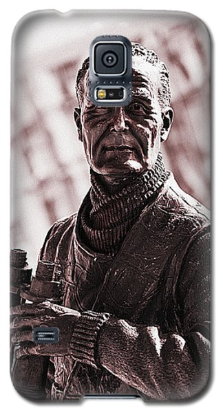 Galaxy S5 Case featuring the photograph Captain F J Walker by Meirion Matthias