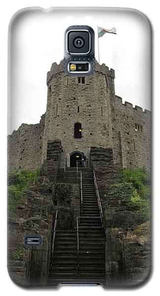Cardiff Castle Galaxy S5 Case by Ian Kowalski