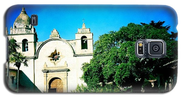 Galaxy S5 Case featuring the photograph Carmel Mission by Nina Prommer