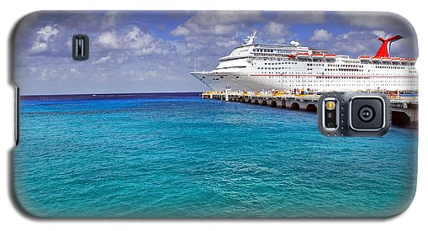 Carnival Elation Docked At Cozumel Galaxy S5 Case