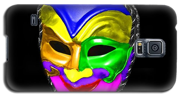 Galaxy S5 Case featuring the photograph Carnival Mask by Blair Stuart