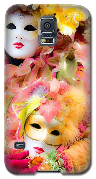 Galaxy S5 Case featuring the photograph Carnival Mask by Luciano Mortula