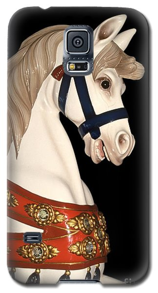 carnival ponies - Champagne Champion Prancing Galaxy S5 Case