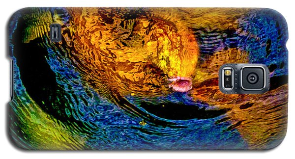 Galaxy S5 Case featuring the photograph Carps In Motion by Ken Stanback