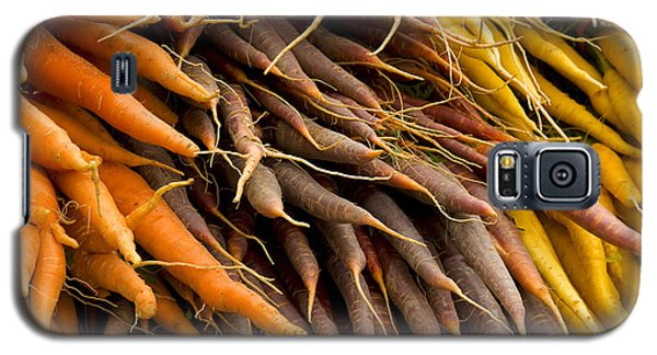Galaxy S5 Case featuring the photograph Carrots by Michael Friedman