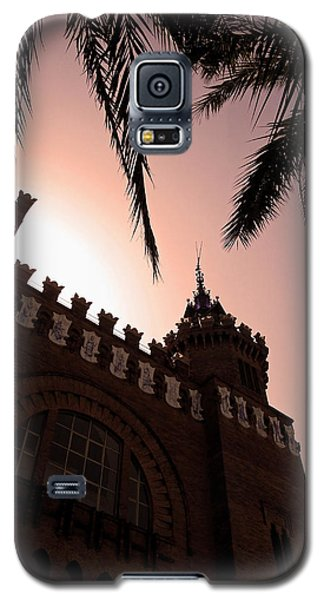 Galaxy S5 Case featuring the photograph Castell Dels Tres Dragons - Barcelona by Juergen Weiss