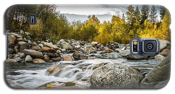 Galaxy S5 Case featuring the photograph Castle Creek by Randy Wood