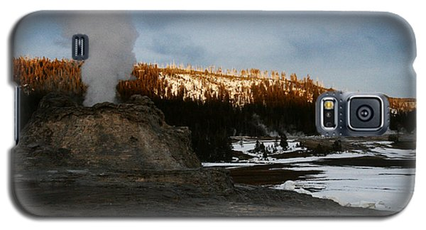 Castle Geyser Yellowstone National Park Galaxy S5 Case