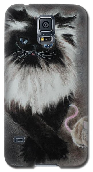 Cat N Mouse Say Cheeeeeeese Galaxy S5 Case by Carla Carson