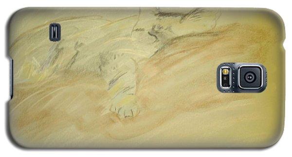 Cat Sketch Galaxy S5 Case