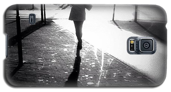 Catch Me If You Can. #woman #running Galaxy S5 Case by Robbert Ter Weijden