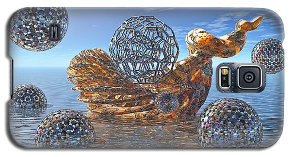 Galaxy S5 Case featuring the digital art Cathexis II by Manny Lorenzo