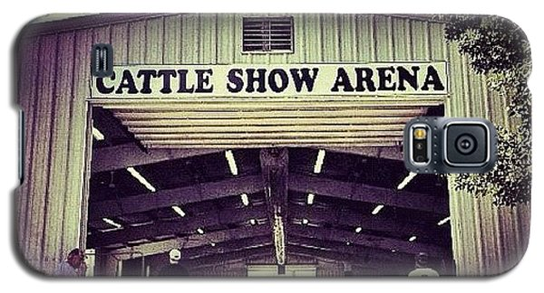 Ohio Galaxy S5 Case - Cattle Show Arena by Natasha Marco