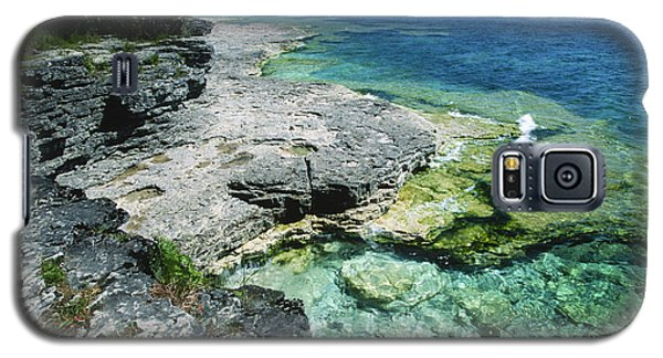 Cave Point Vista Galaxy S5 Case