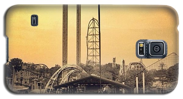 #cedarpoint #ohio #ohiogram #amazing Galaxy S5 Case by Pete Michaud