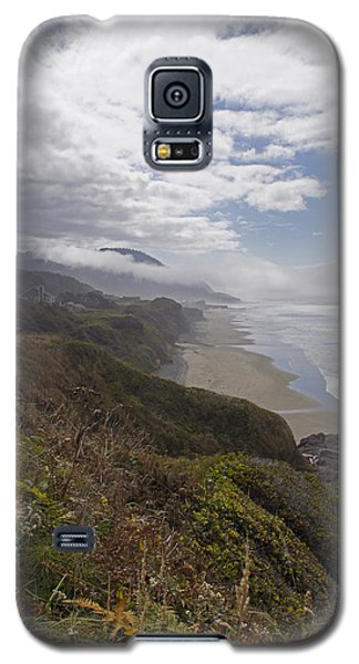 Galaxy S5 Case featuring the photograph Central Oregon Coast Vista by Mick Anderson