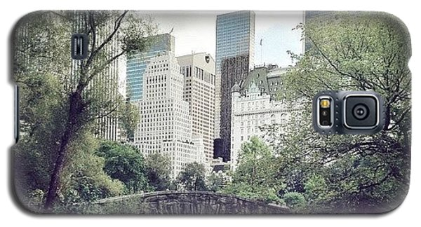 Place Galaxy S5 Case - Central Park by Randy Lemoine