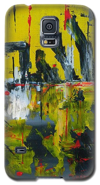Galaxy S5 Case featuring the painting Chaotic Vision by Everette McMahan jr