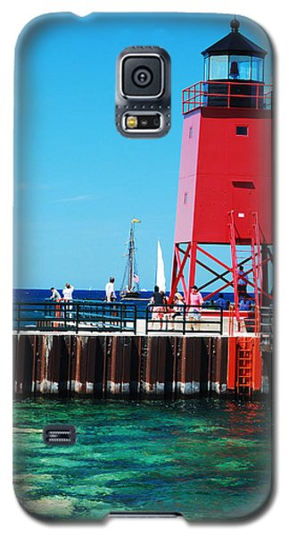 Galaxy S5 Case featuring the photograph Charlevoix Light by Janice Adomeit