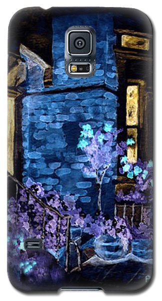 Chelsea Row At Night Galaxy S5 Case