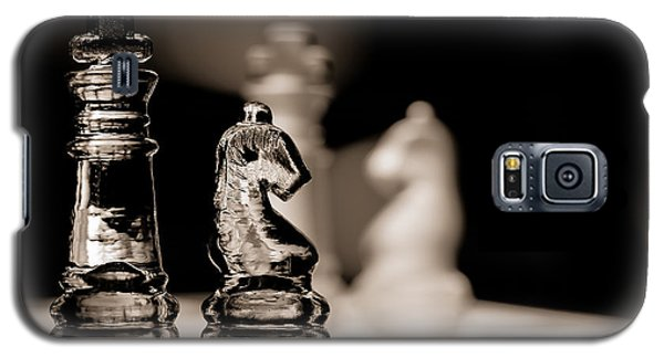 Chess King And Knight Galaxy S5 Case