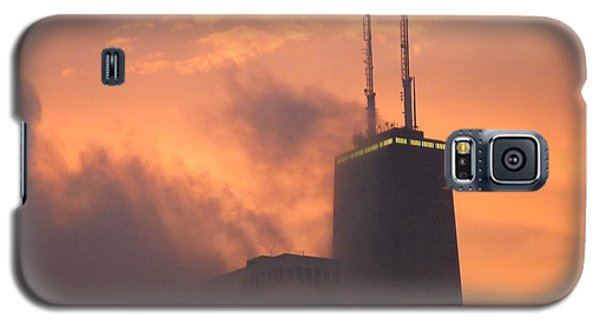 Chicago Dusk Galaxy S5 Case by Valentino Visentini
