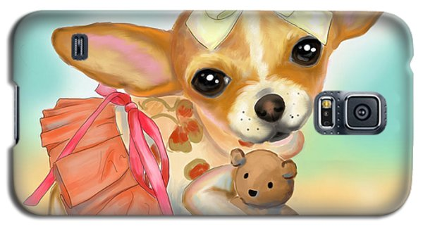 Chihuahua Princess Galaxy S5 Case