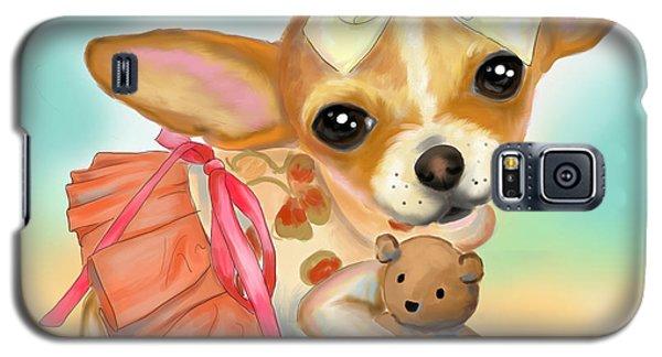 Chihuahua Princess Galaxy S5 Case