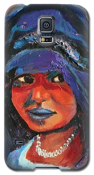 Child Bride Of The Sahara - Close Up Galaxy S5 Case by Avonelle Kelsey