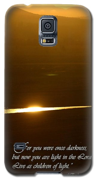 Children Of Light Galaxy S5 Case
