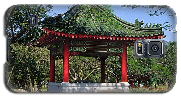 Galaxy S5 Case featuring the photograph Chinese Gardens Garden Pavilion 21b by Gerry Gantt