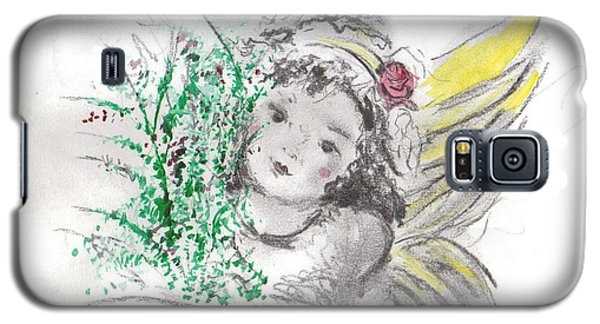 Christmas Angel Galaxy S5 Case