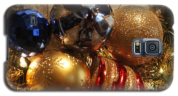 Galaxy S5 Case featuring the photograph Christmas Bulbs by Ivete Basso Photography
