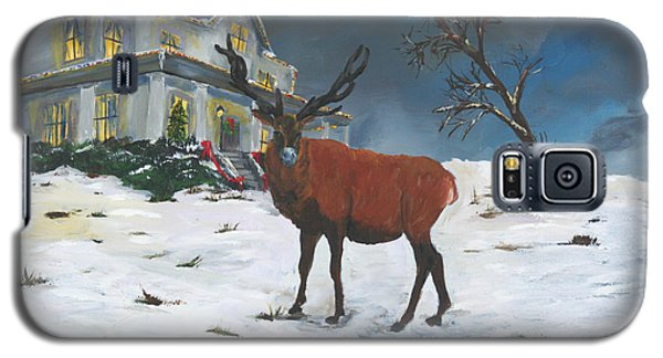 Christmas Elk Galaxy S5 Case
