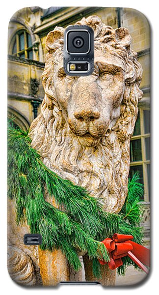 Christmas Lion At Biltmore Galaxy S5 Case