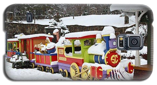 Christmas Train Galaxy S5 Case