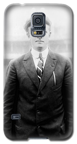 Galaxy S5 Case featuring the photograph Christy Mathewson - Major League Baseball Player by International  Images