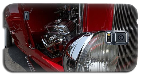 Chrome Engine Vintage Car Galaxy S5 Case