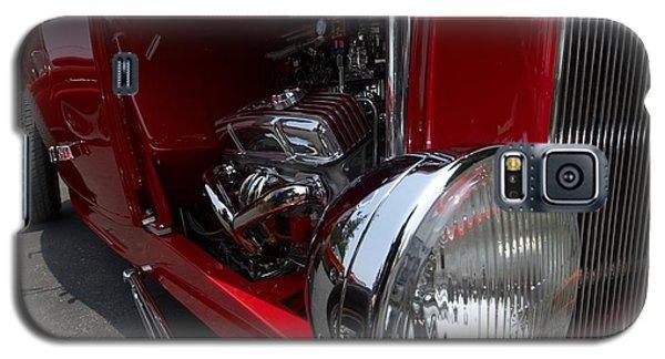 Chrome Engine Vintage Car Galaxy S5 Case