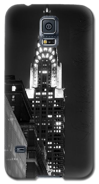 Galaxy S5 Case featuring the photograph Chrysler Building by Michael Dorn