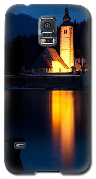 Church At Dusk Galaxy S5 Case by Ian Middleton